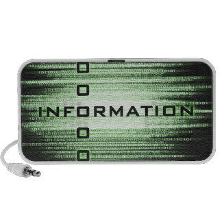 Information Text Design Notebook Speaker