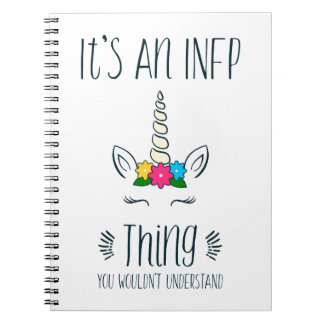 INFP Thing Unicorn Notebook