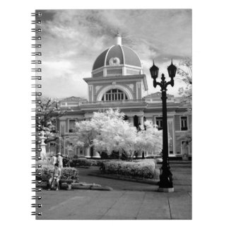 Infra Red ofParliament in Cienfuegos Cuba called Notebook