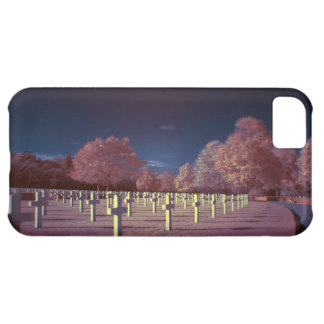Infrared American Cemetery Crosses iPhone 5C Case