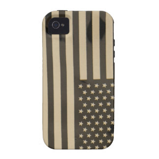 Infrared American Flag iPhone 4 Cover