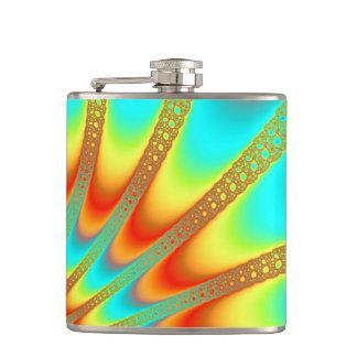 Infrared Electromagnetic Radiation Spectrum Orange Hip Flask