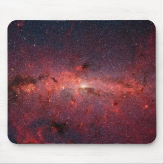 Infrared Image of the Milky Way Galaxy Mouse Mat
