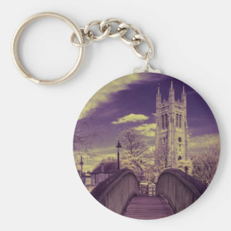 Infrared landscape Bridge and Church Key Chains