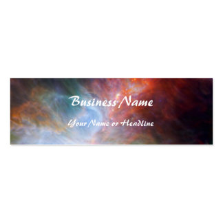 Infrared Light in the Orion Nebula Business Cards