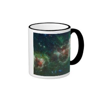 Infrared mosaic of the Heart and Soul nebulae Ringer Mug