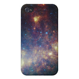 Infrared portrait revealing the stars and dust iPhone 4 cases