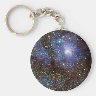 Infrared View Lagoon Nebula Messier 8 M8 NGC 6523 Keychains