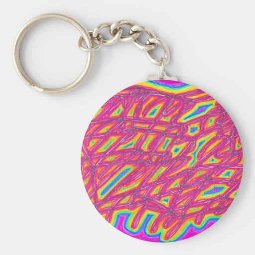 infrared web key chains
