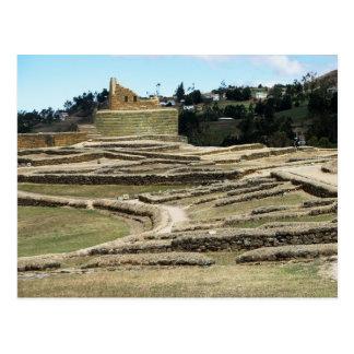 Ingapirca Inca ruins, Ecuador Postcard