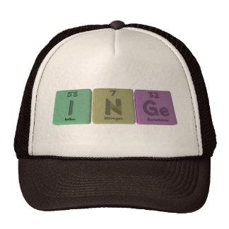 Inge as Iodine Neon Germanium Trucker Hats
