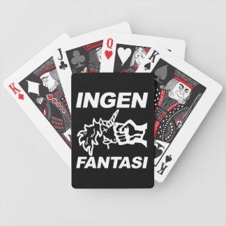 Ingen Fantasi spillekort Bicycle Playing Cards