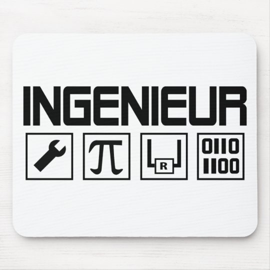 ingenieur icon mouse mat