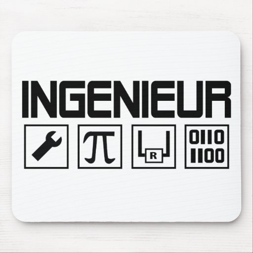 ingenieur icon mouse pad