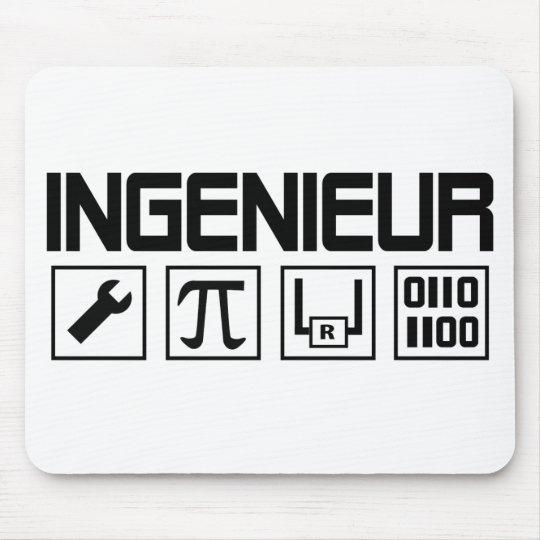 ingenieur icon mouse pad