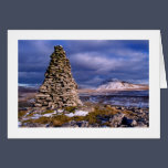 Ingleborough from Twisleton Scars Christmas Card