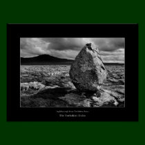 Ingleborough from Twisleton Scars Poster
