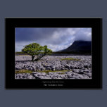 Ingleborough from White Scars Poster