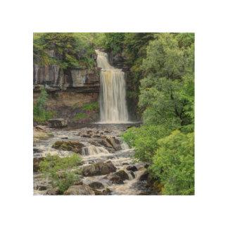 Ingleton Falls Wood Print