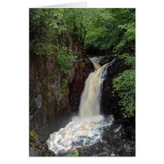 Ingleton Falls, Yorkshire greeting card