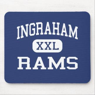 Ingraham - Rams - High School - Seattle Washington Mouse Pad