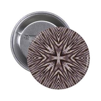 Ingrained Mandala • Button