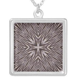 Ingrained Mandala Necklace