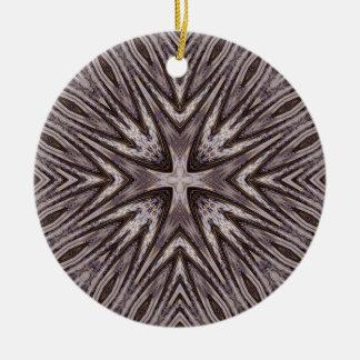 Ingrained Mandala Ornament