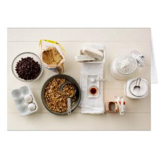 Ingredients & Tools 3 Card
