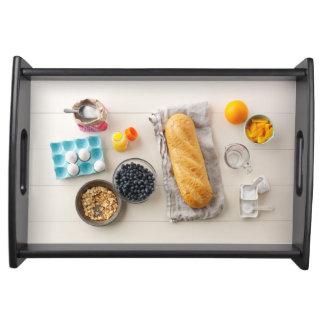 Ingredients & Tools 4 Serving Tray