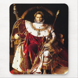 Ingres: Napoleon on the Imperial Throne, Mouse Pad