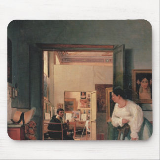 Ingres' Studio in Rome Mouse Mat