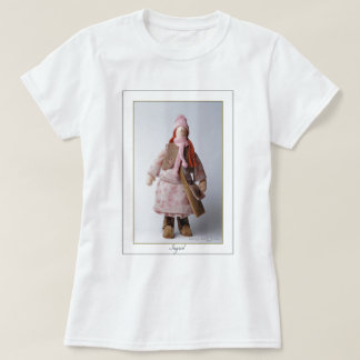 Ingrid - Ladies Baby Doll Fitted T-Shirt - White