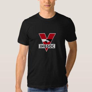 INGSOC T Shirt Plain Background