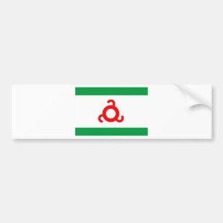 Ingushetia flag.jpg bumper sticker