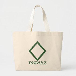 Ingwaz Large Tote Bag