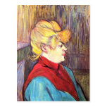 Inhabitant of the House of Joys - Toulouse-Lautrec Post Cards