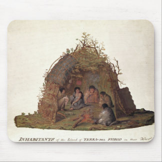 Inhabitants of the Island of Terra del Fuego Mouse Mat