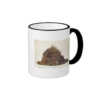 Inhabitants of the Island of Terra del Fuego Ringer Mug
