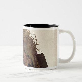 Inhabitants of the Island of Terra del Fuego Two-Tone Mug
