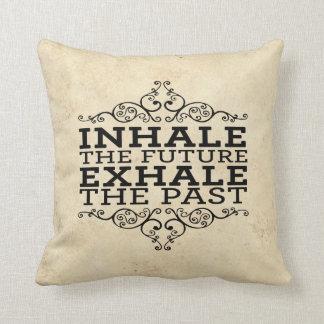 inhale/exhale cushion