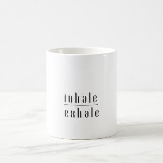 Inhale, Exhale Mug