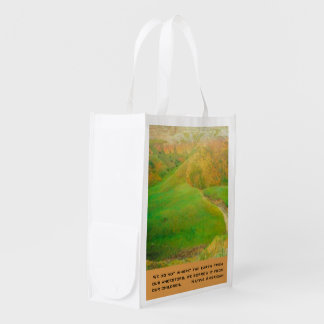 Inherit the earth reusable grocery bag