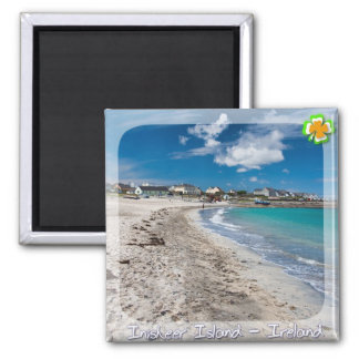 Inisheer Island Square Magnet