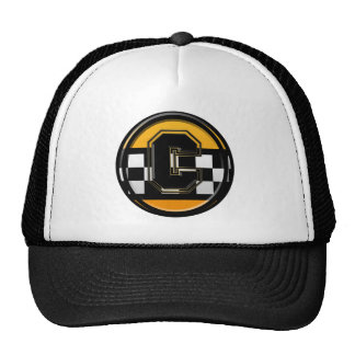Initial C taxi driver Mesh Hat