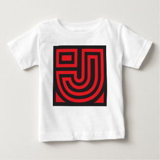 Initial for names starting with J Baby T-Shirt