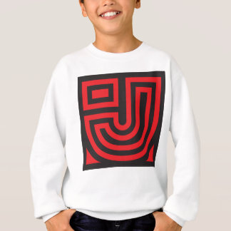 Initial for names starting with J Sweatshirt