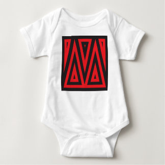 Initial for names starting with M Baby Bodysuit