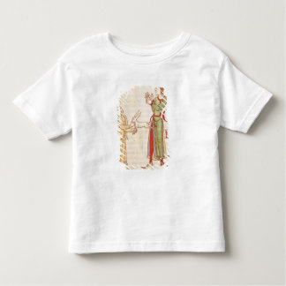 Initial 'H' in the form of two conjurors Tshirt
