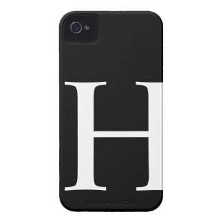 Initial H iPhone 4/4S Barely There Case iPhone 4 Cover